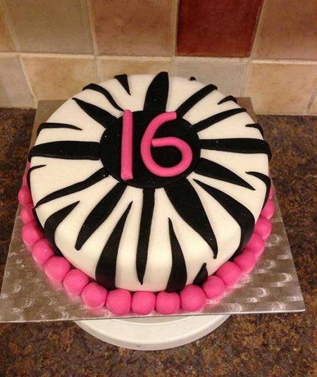 16th-birthday-cake