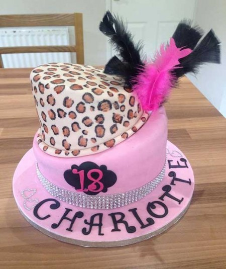 18th-birthday-celebration-cake