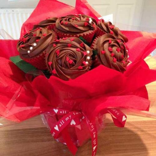 cupcake bouquet all my love