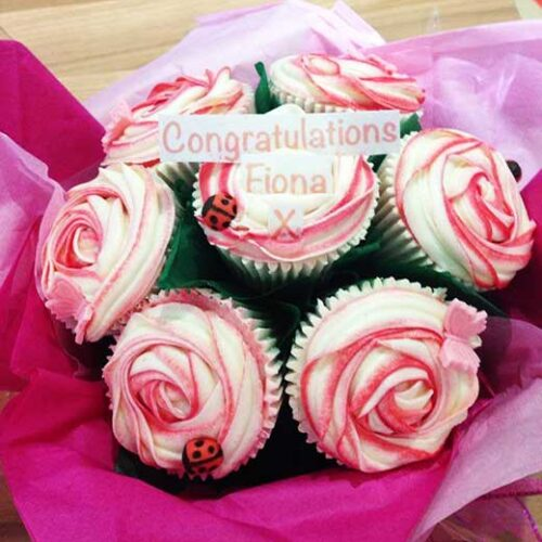 cupcake bouquet congratulations