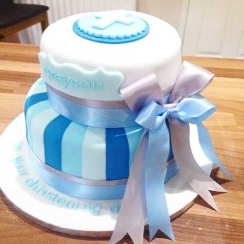 christening-cake-blue-white