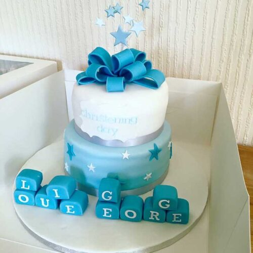 christening-cake-white-blue