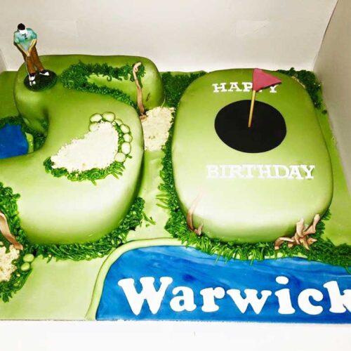 golf-cake