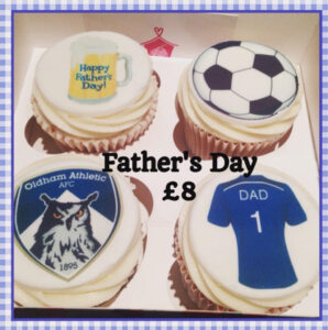 Farthers Day Cup Cake Box Corner House Cakes