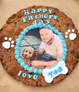 Farther's Day Giant Photo Cookie Corner House Cakes