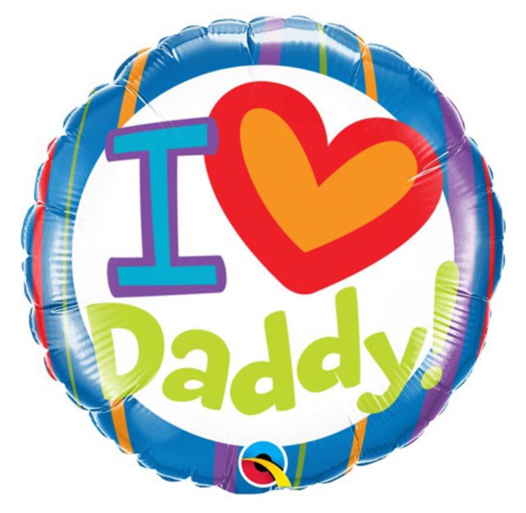 I Heart Daddy Balloon Corner House Cakes