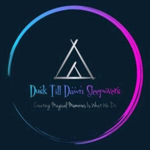 Dawn Till Dusk Sleepovers Logo
