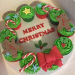 Cornerhouse Cakes Christmas Decorated Cup Cakes