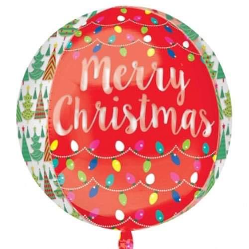 Cornerhouse Cakes Merry Christmas Balloon