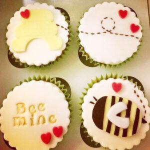 Corner House Cakes Valentines Cupcakes Bee