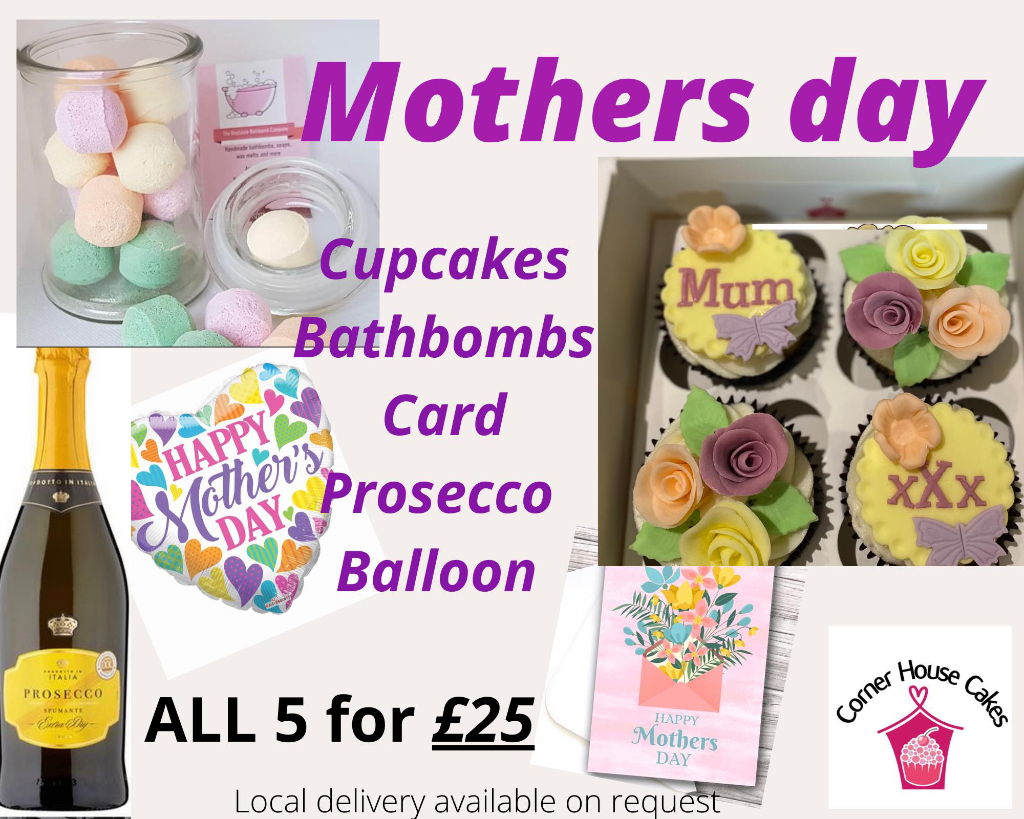 Corner House Cakes Mothers Day Package