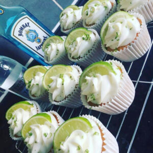 Mothers Day Cupcakes Gin And Tonic Bottle Cornerhouse Cakes