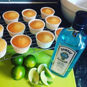 Mothersday Cupcakes Gin And Tonic Cornerhouse Cakes