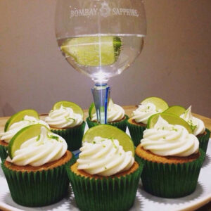 Mothers Day Cupcakes Gin And Tonic Glass Cornerhouse Cakes